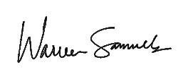 Warren Samuels Signature